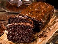 Бърз шоколадов сладкиш с майонеза, какао, вода и бакпулвер (без мляко и без яйца)